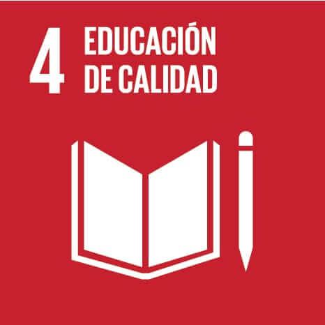 Imagen ODS 4 Educación de calidad